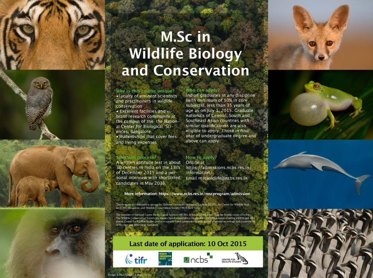 Wildlife Biology univ courses