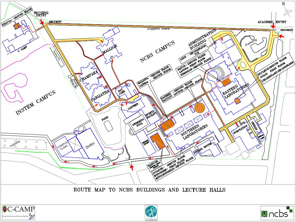 Lander University Campus Map.Campus Map Ncbs